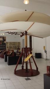 One of the exhibits in El Genio di Leonardo da Vinci