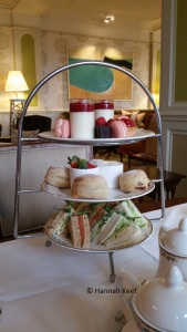 The afternoon tea tray, yummy!