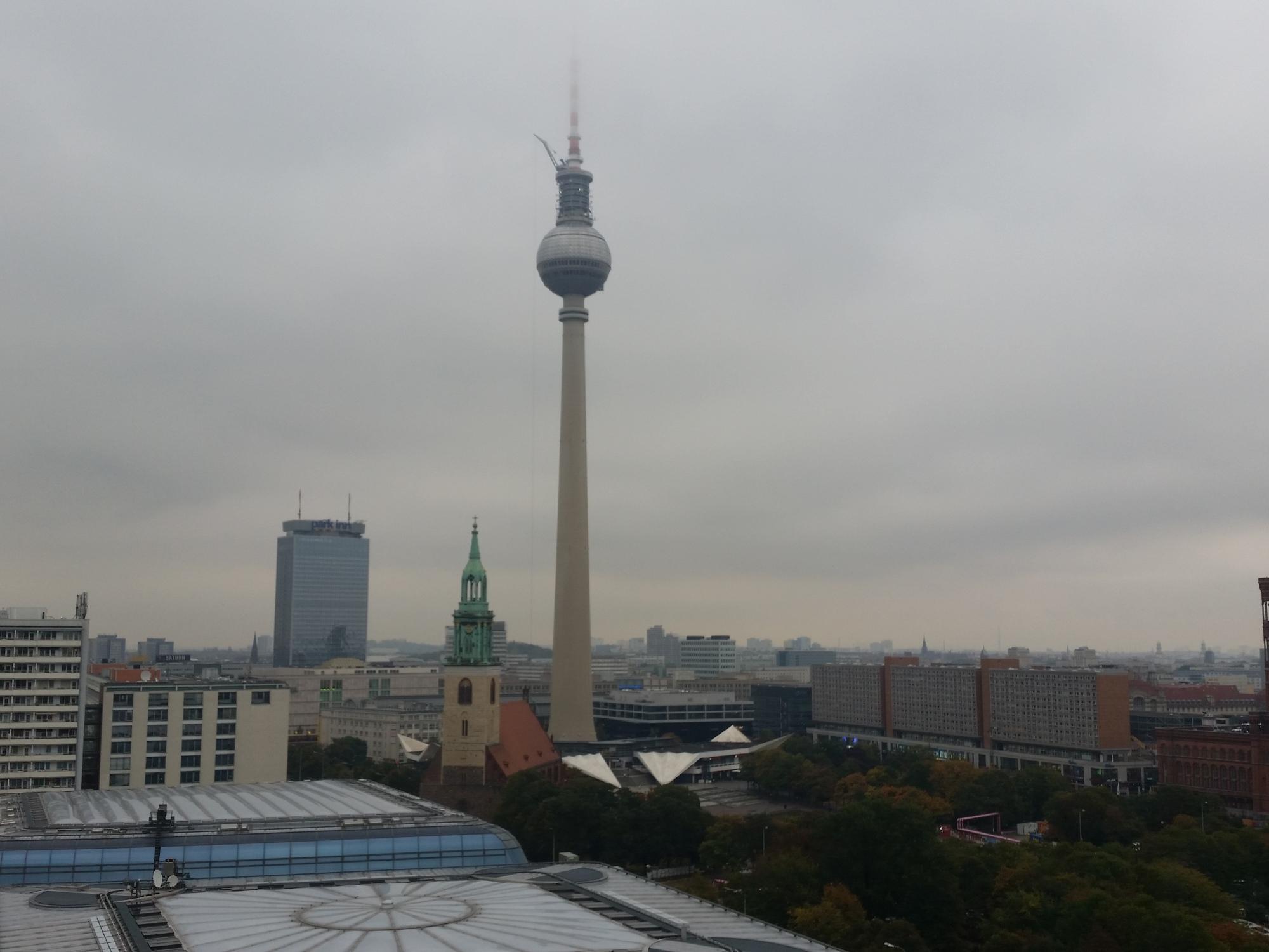 Berlin, TV Tower, Fernsehturm