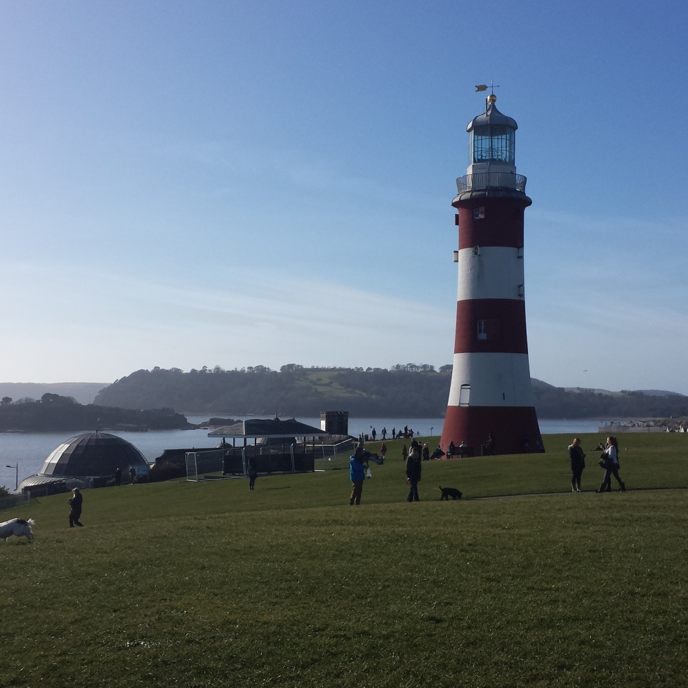Plymouth, Devon, Plymouth Hoe, Smeaton's Tower, The Dome