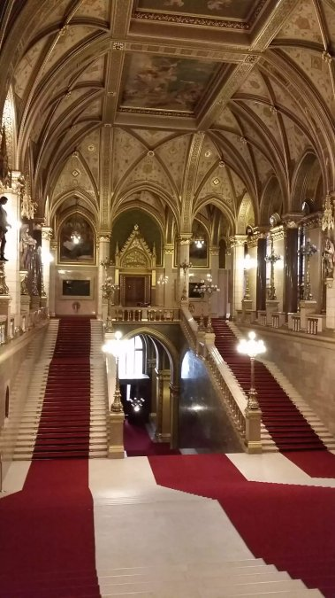 Impressions of Hungarian Parliament